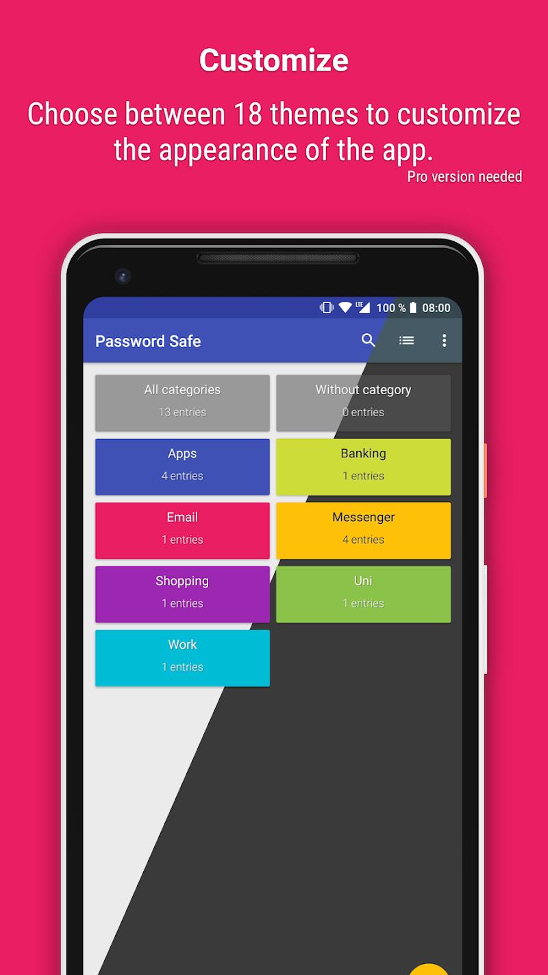 Password Safe and Manager Screenshot 5