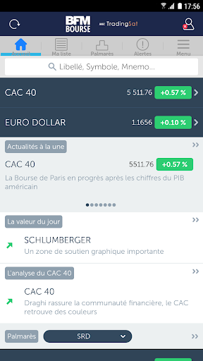 BFM Bourse - screenshot