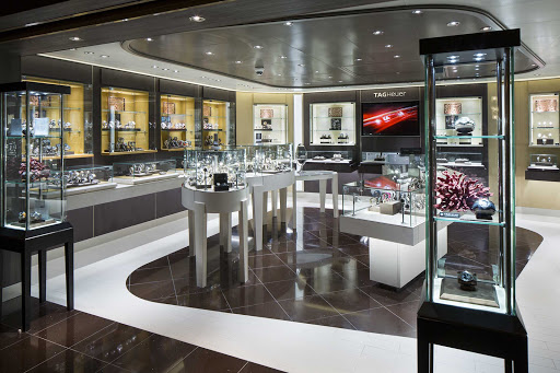 koningsdam-Watch-Shop.jpg - Shop for a new watch during your sailing on Holland America's Koningsdam.