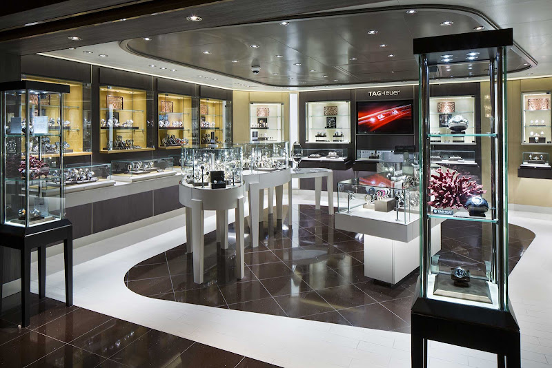 Shop for a new watch during your sailing on Holland America's Koningsdam.