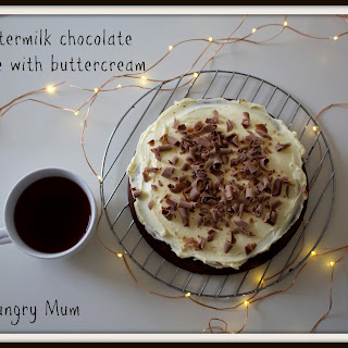 Easy Buttermilk Chocolate Cake