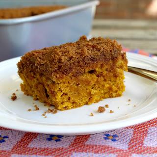 Pumpkin Cinnamon Crumb Cake.