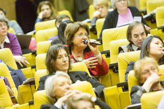 Photo: Un échange lors des sessions de questions-réponses- Photo Olivier Ezratty