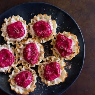 Chocolate Raspberry French Silk Pie Bites.