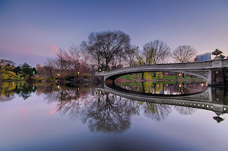 Photo: Bow Bridge in Central Park  Spring is definitely in the air in New York City- Absolutely loving this weather right now!  ...but, I really should be doing my taxes :/ whoopsies!  #nyc  #landscapephotography  #sunsetphotography