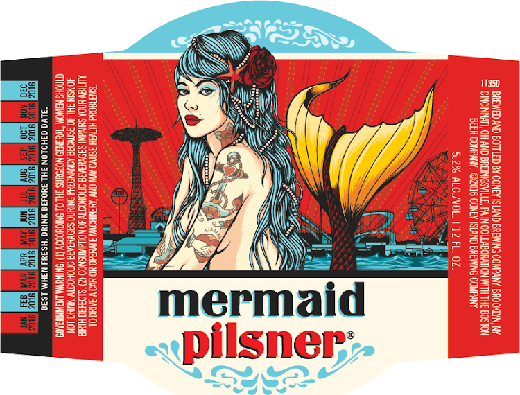 Logo of Coney Island Mermaid Pilsner