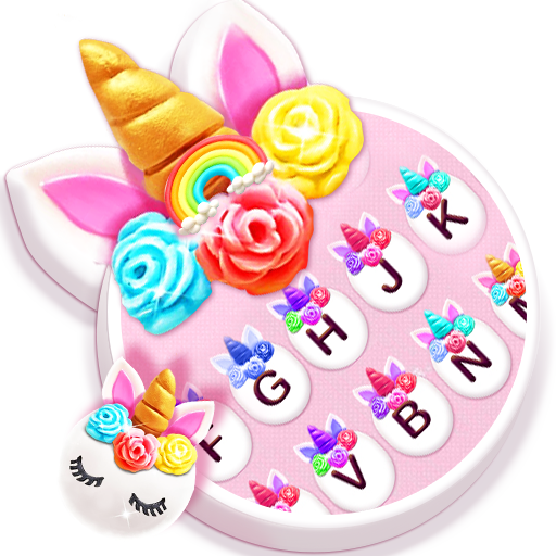 Sweeties Unicorn Flower Keyboard