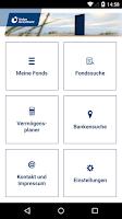 Screenshot of Meine Fondswelt