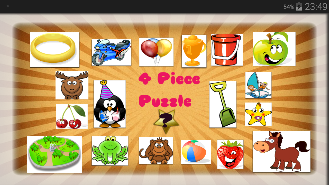 Baby Puzzle - 4 Piece Puzzle- screenshot