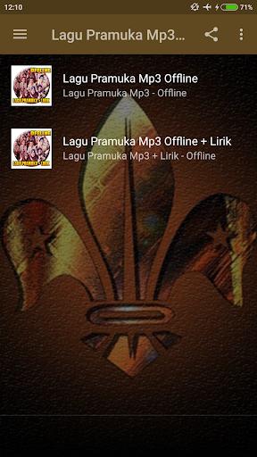 Kumpulan Lagu Pramuka + Lirik screenshots 2