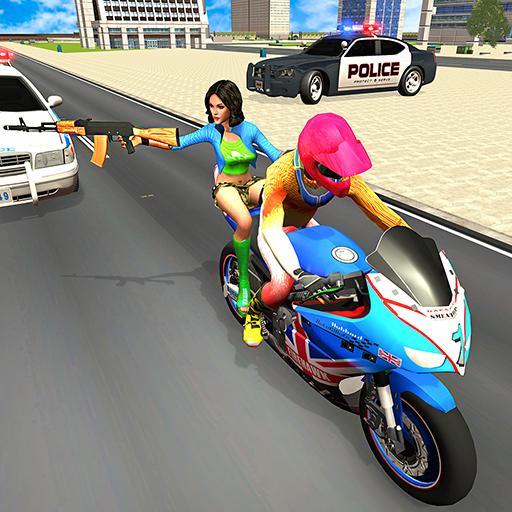 roubo jogos: bicicleta Criminoso corrida
