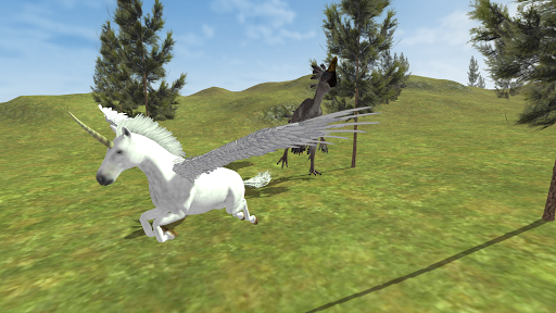 Flying Unicorn Simulator Free screenshot 15