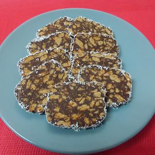 Chocolate Biscuit Salami.