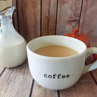 Autumn Spice Coffee Creamer {THM-S, Low Carb, Sugar Free}.