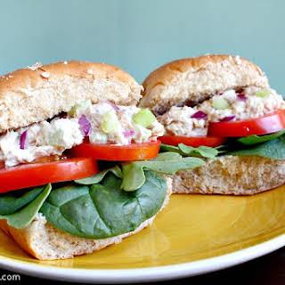 Simple Tuna Salad Sliders.