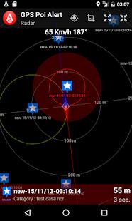 GPS Poi Alert Free - náhled