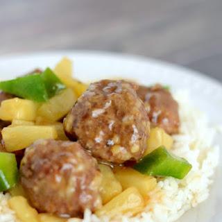 Waikiki Sweet and Sour Meatballs.