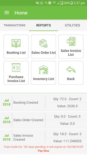 Zentrade - Order Booking/Inventory/GST Billing App 1.92 screenshots 3
