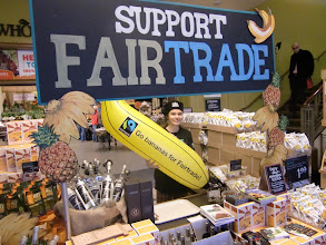 Photo: Fairtrade Wholefoods event