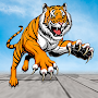 Angry Tiger City Attack: Wild Animal Fighting Game