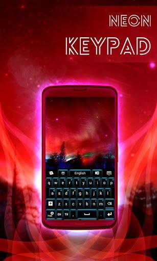 無料个人化Appのネオンキーパッドブルー|記事Game
