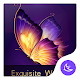 Exquisite Purple theme for Android free Download for PC Windows 10/8/7