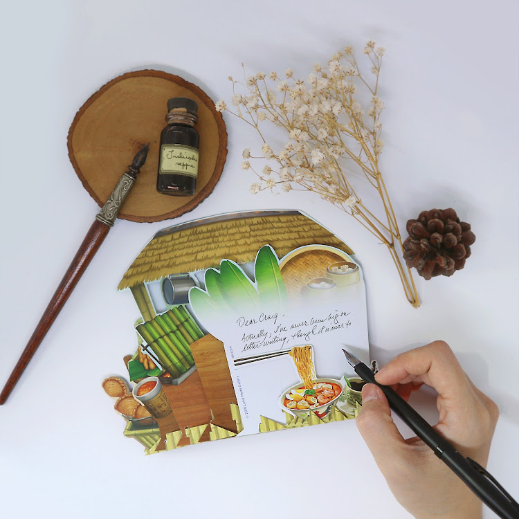 360° 3D Greeting Card: The Taste of Malaysia