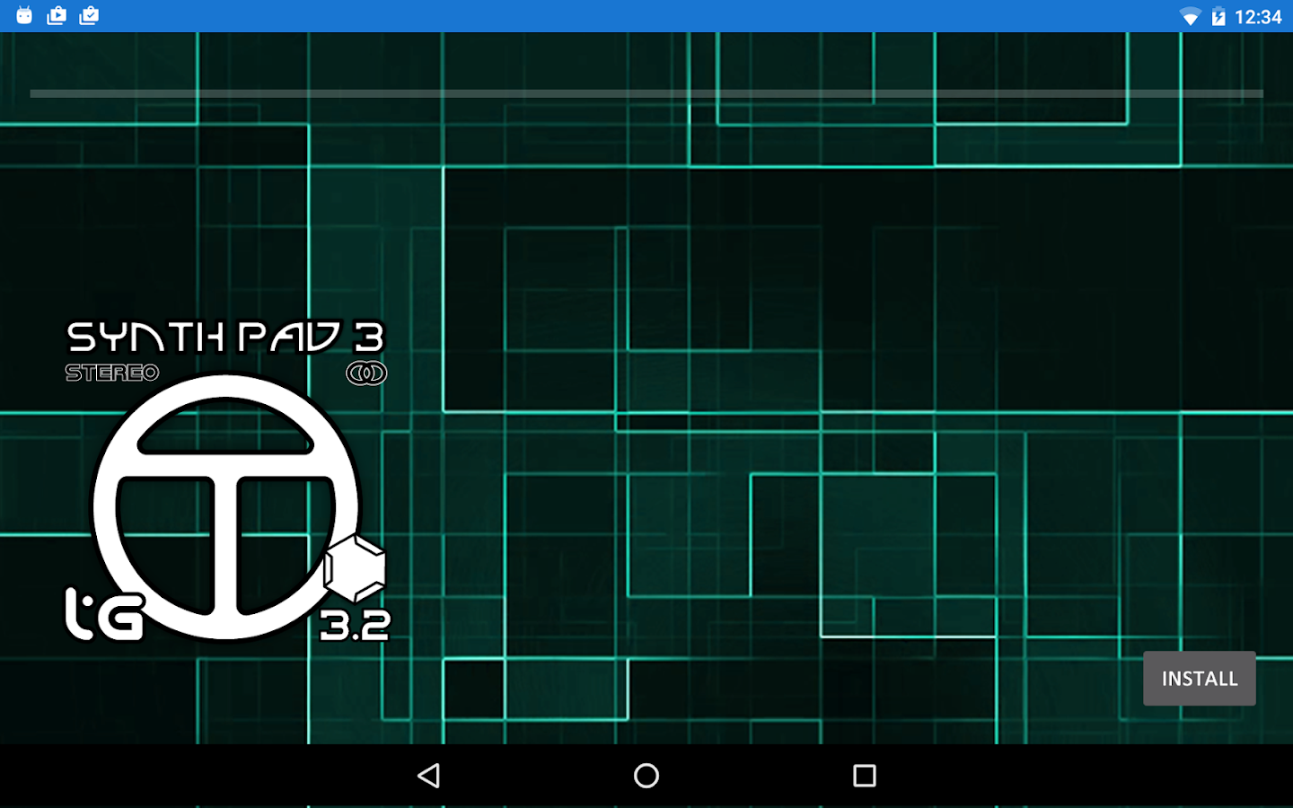 Caustic 3.2 SynthPad Pack 3- screenshot