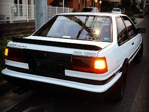 スプリンタートレノ AE86 GTAPEX 61年式 2ドアクーペのカスタム事例画像 Takeshi Kusanoさんの2019年08月03日18:57の投稿