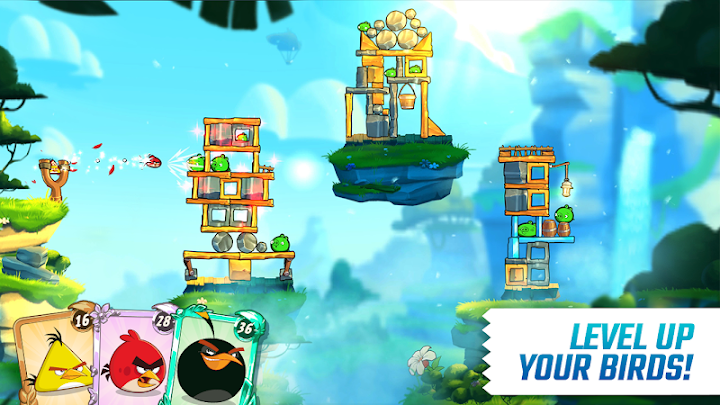 Angry Birds 2 Android App Screenshot