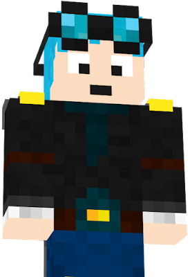 how to download dantdm skin with a cape