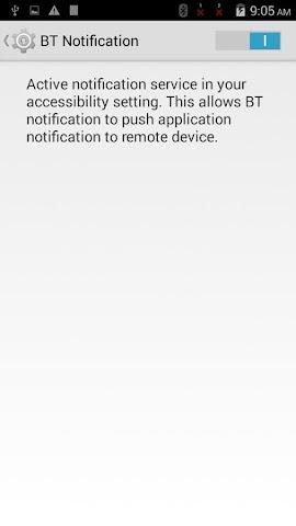 android BTNotification Screenshot 5