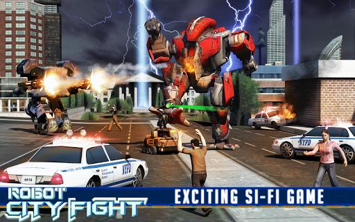 機器人城的戰鬥