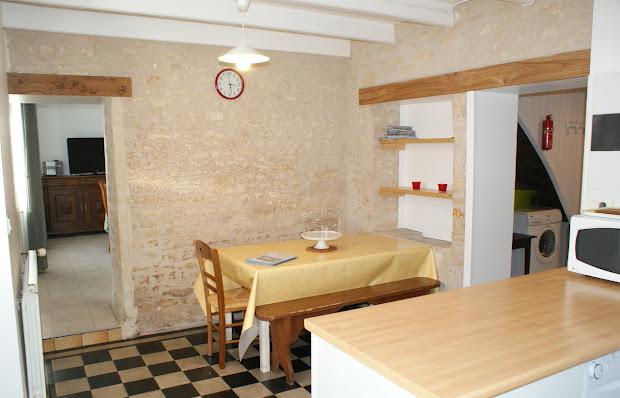 Cocina - Casa rural de alquiler para 6 a 7 personas en Surgeres cerca de La Rochelle costa atlantica de Francia