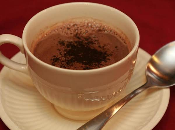 Grown-up Hot Chocolate Recipe