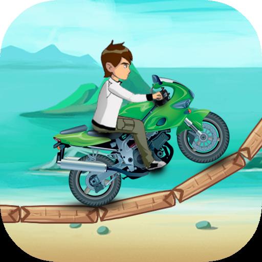 Ben Jungle Bike Race 賽車遊戲 App LOGO-硬是要APP