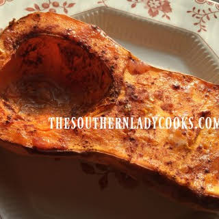 CINNAMON ROASTED BUTTERNUT SQUASH.
