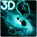 Gyro Space Particles 3D Live Wallpaper icon
