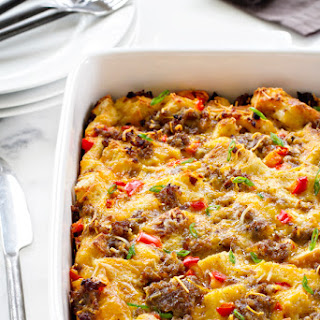 Make Ahead Breakfast Casserole.