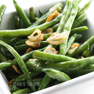 String Beans with Garlic and Oil.