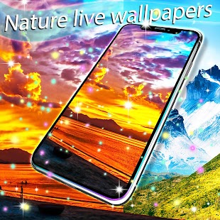 Nature live wallpapers - náhled