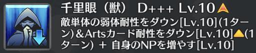 千里眼(獣)[D+++]