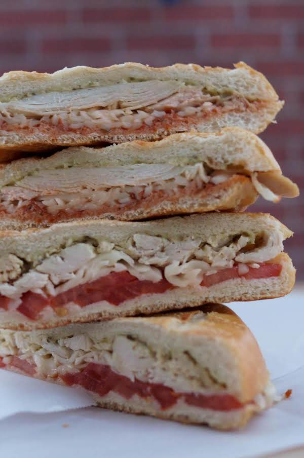 Turkey Pesto Panini Recipe
