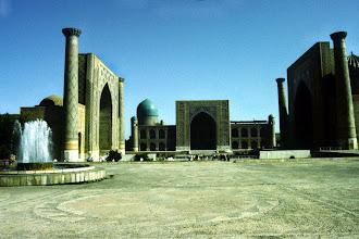 Photo: Samarkand Registan