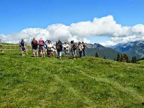 Photo: Enfin au sommet  Chalet du Colomban La Clusaz