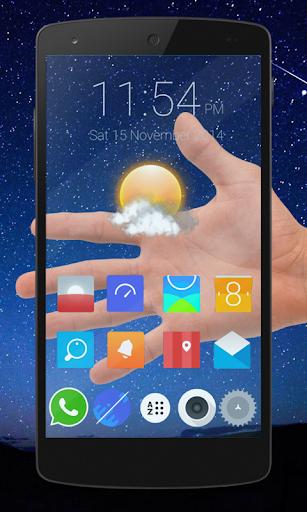 Transparent Phone 1.0 screenshots 1