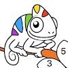 Chamy - 컬러링북, 숫자로 색칠하기