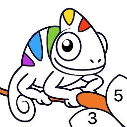 Androidアプリ Chamy 数字で塗り絵 数字で色を付ける塗り絵帳 パズル Androrank アンドロランク