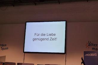 Photo: Ein Vortrag über die Sexsualität im Alter von Frau Dr. Vera Kling, Psychologin und Sexologin.