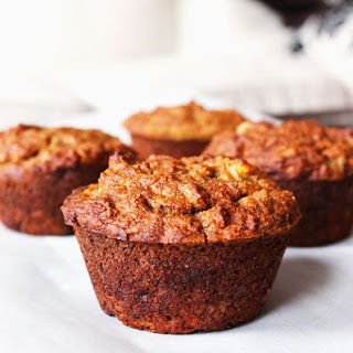 Clean Eating Peanut Butter Banana Muffins.